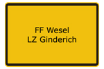 FF Wesel LZ Ginderich