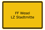 FF Wesel LZ Stadtmitte